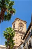 Spain, Granada This is the bell tower of the Granada Cathedral
