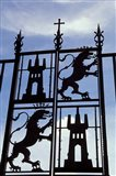 Decorative Wrought-Iron Gate of Alcazar, Cordoba, Spain