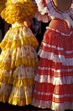 Colorful Flamenco Dresses at Feria de Abril, Sevilla, Spain