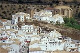 Whitewashed Village with Houses in Cave-like Overhangs, Sentenil, Spain