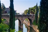 River near Passeig Mallorca, Palma, Majorca, Balearic Islands, Spain
