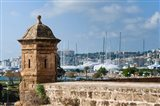 City ramparts, Palma de Mallorca, Majorca, Balearic Islands, Spain