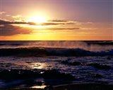 Coastline at Sunset, Lanzarote, Canary Isles, Spain