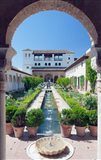 Palacio del Generalife, Alhambra, Granada, Andalucia, Spain