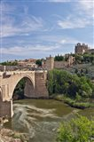 St Martin's Bridge, Tagus River, Toledo, Spain