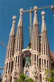 La Sagrada Familia by Antoni Gaudi, Barcelona, Spain