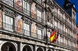 Spain, Madrid, Plaza Mayor, Building Detail