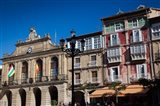 Spain, La Rioja, Haro, Plaza de la Paz, Buildings