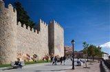 Spain, Castilla y Leon, Avila, Las Murallas, Walls