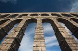 Spain, Castilla y Leon, Segovia, Roman Aqueduct