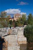 Spain Castilla y Leon, Puente de San Marcos bridge