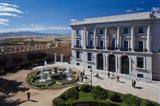 Spain, Castilla y Leon, Avila, Plaza Adolfo Suarez