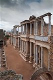 Spain, Extremadura, Badajoz, Merida, Roman Theater