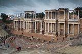 Spain, Extremadura, Badajoz, Merida, Roman Theater