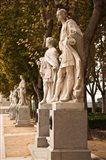 Spain, Madrid, Plaza de Oriente, Statues of Kings