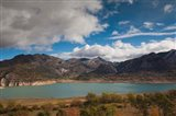 Spain, Embalse de los Barrios de Luna Reservoir