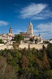View from the Alcazar, Segovia, Spain