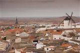 Spain, La Mancha Area, Campo de Criptana Windmills