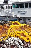Spain, Cantabria Province, Santona, Fishing Boat