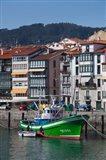 Spain, Basque Country, Vizcaya, Lekeitio Harbor