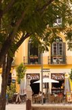 Outdoor Cafes, Plaza de la Merced, Malaga, Spain