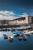 Town And Harbor View, Castro-Urdiales, Spain
