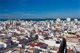 View From Torre Tavira, Cadiz, Spain