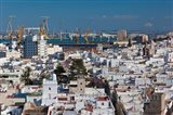 View From Torre Tavira, Cadiz, Spain