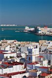 View From Torre de Poniente, Cadiz, Spain