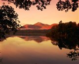 Derwent Water in The Lake District, Cumbria, England