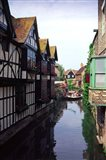 Boating Trips on the River Stour, Canterbury, Kent, England