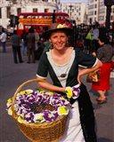 Flower Vendor, London, England
