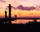Power Stations and Industry, Runcorn, Merseyside, England