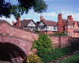 The Dell, Port Sunlight Village, Wirral, Merseyside, England