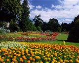 Jephson Gardens at Royal Leamington Spa, Warwickshire, England