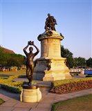 Gower Memorial to Shakespeare, Stratford, Warwickshire, England