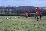 The Quorn Fox Hunt, Leicestershire, England