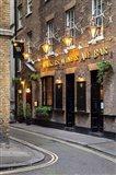 Bar near Trafalgar Square, London, England