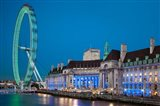 London Eye, River Thames, London, England