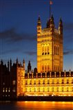 Victoria Tower, House of Parliament, London England