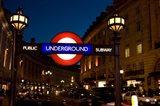 England, London Subway, Tube Entrance