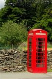 England, Cumbria, Grasmere, Phone Booth