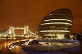 Tower Bridge, City Hall, London, England