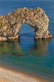 Durdle Door Arch, Jurassic Coast World Heritage Site, Dorset, England