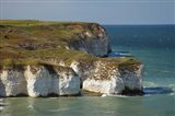 Chalk cliffs by North Landing, Flamborough Head, Yorkshire, England