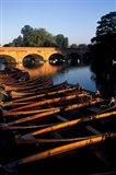 Clopton Bridge on River Avon, Stratford-on-Avon, England