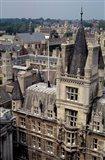 Roofs of Cambridge Univertisy, Cambridge, England