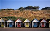 Beach Huts at Bournemouth, Dorset, England