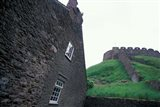 Ruins of Norman Castle, Totnes, Devon, England