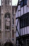 High Street, Village Cross, Winchester, Hampshire, England